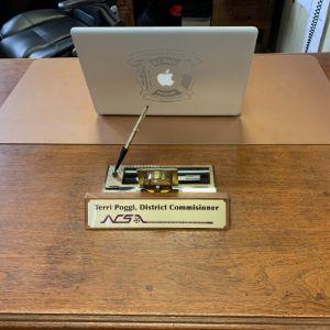 Samson Desk Nameplate