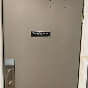 Samson Door Nameplate