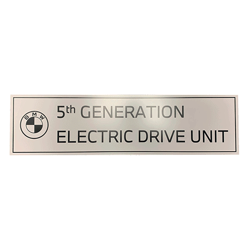 Samson Electric Dive Sign