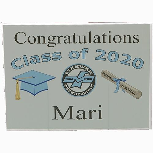 Samson Graduation Sign 2020
