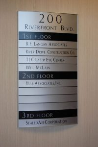Samson Sign Room Numbers & Directional Signs
